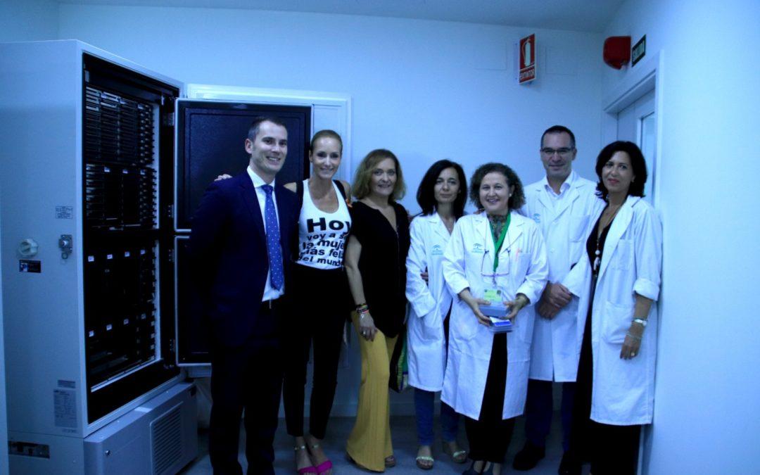 Agua de Sevilla colabora con la Fundación Sandra Ibarra en su última donación al Hospital Virgen Macarena
