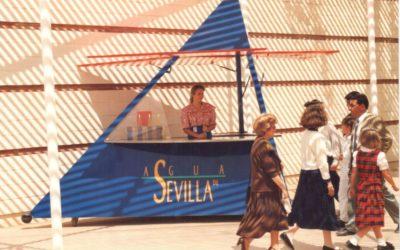 Agua de Sevilla, el perfume de la Expo '92